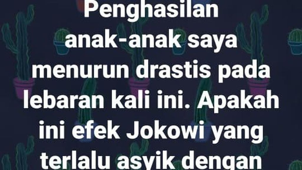 Pendapat Para Pakar soal Status FB Hina Jokowi Unggahan Dosen Unnes