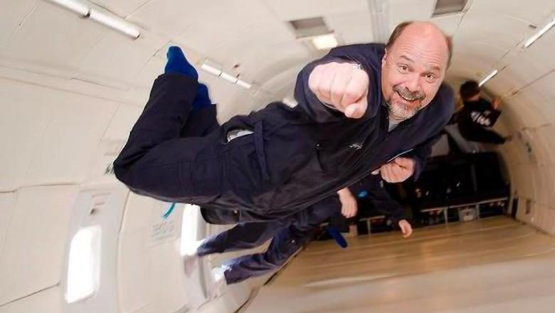 Penerbangan tanpa gravitasi