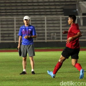 Shin Tae-yong Masih Cari Best XI Timnas U-19