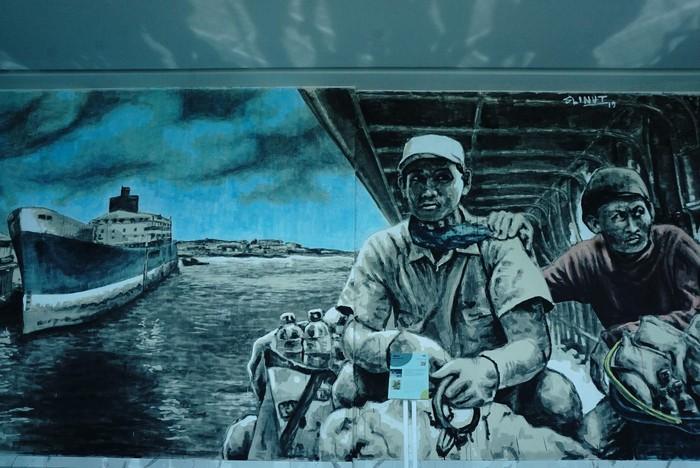 H(ART)BOUR Festival di Terminal Eksekutif Sosoro, Merak dan Terminal Eksekutif Anjungan Agung, Bakauheni