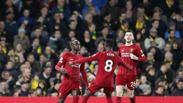 Laga Liverpool di Liga Inggris. (