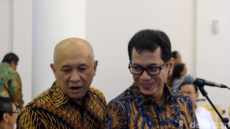 menteri Pariwisata dan Kreatif Ekonomi Wishnutama Kusubandio