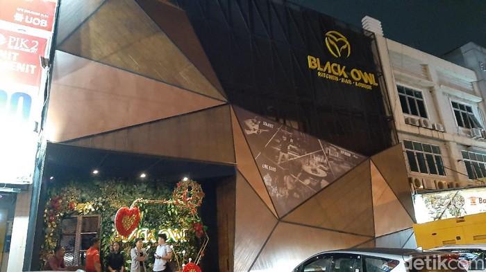 Black Owl tutup malam ini (Lisye Sri Rahayu/detikcom)