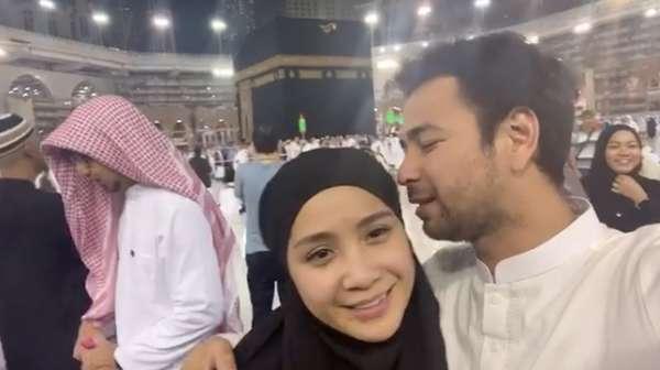 Rayakan Ultah saat Umrah, Ini Doa Raffi Ahmad dan Nagita Slavina