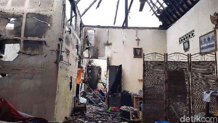 Kebakaran rumah di kawasan Pasar Cebongan, Sleman