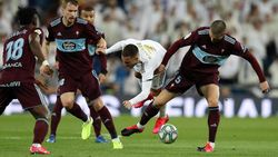 Real Madrid Vs Celta Vigo: Imbang 2-2, Los Blancos Dipepet Barcelona