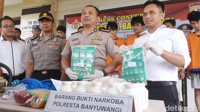 Polresta Banyuwangi Kembali Tangkap Pengedar Narkoba