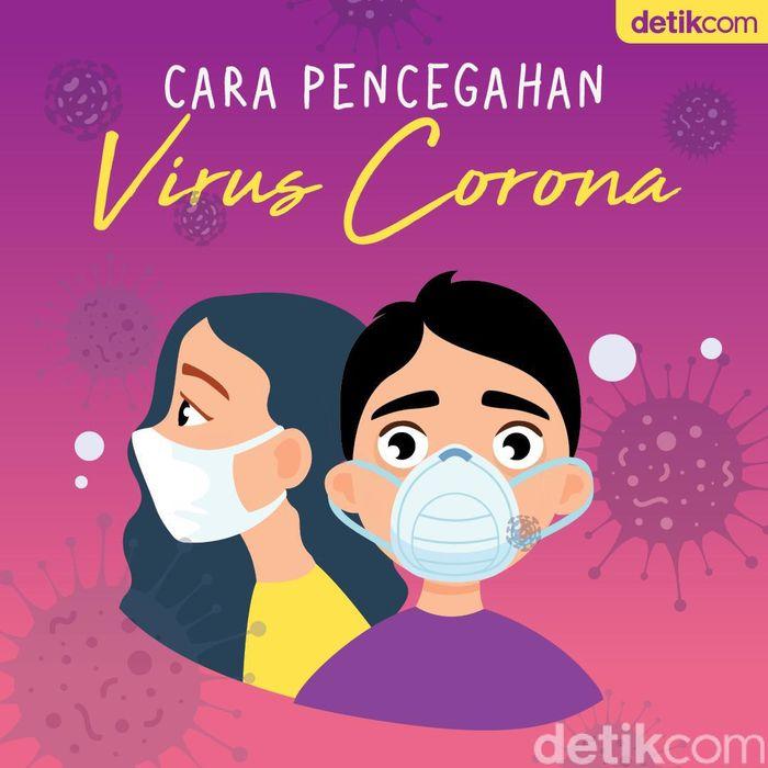 5 Cara Cegah Penularan Virus Corona COVID-19