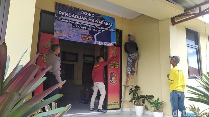 Polres Cianjur buka posko pengaduan penipuan WO