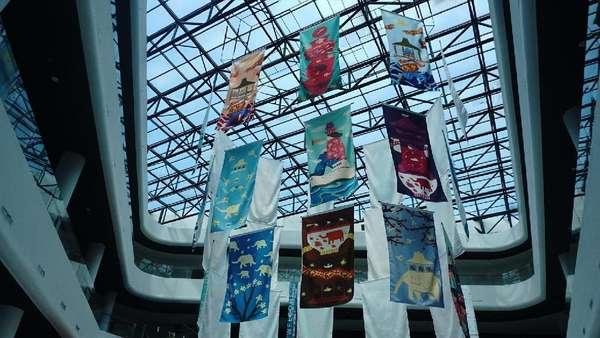 Kece Abis! Terminal Merak - Bakauheni Dipenuhi Karya Seni