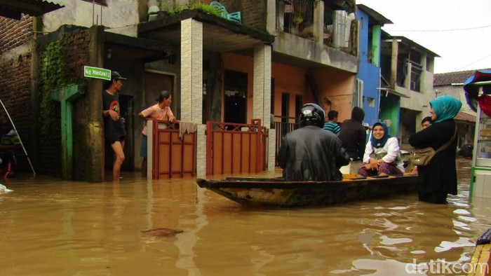 Dayeuhkolot kembali tergenang banjir