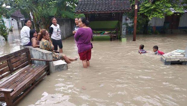 Ratusan Rumah di Blora Kebanjiran hingga 1 Mete