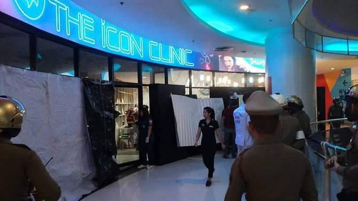 A gunman opened fire at a shopping mall in Bangkok on Tuesday (Feb 18). (Photo: Twitter/Disaster_TH)