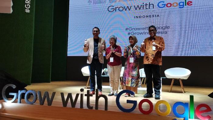 Acara Grow With Google sumbang USD 1 juta untuk pelatihan guru
