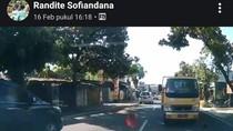 Truk Berpelat Merah yang Dihadang Pemobil Santuy di Klaten Terlacak!