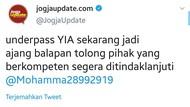 Video Balap Mobil di Underpass Bandara Kulon Progo Ternyata Tak Berizin