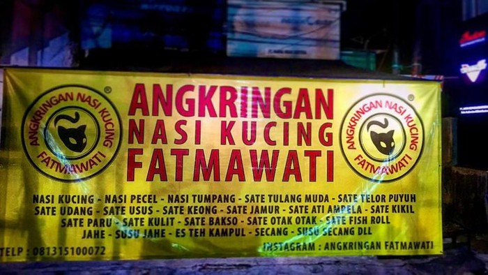 Angkringan enak di Jakarta