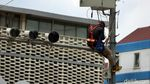Begini Perbaikan Instalasi Kabel CCTV Lalu Lintas di Kawasan Thamrin