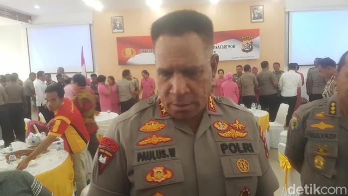 Kapolda Papua Irjen Paulus Waterpauw (Wilpret Siagian/detikcom)
