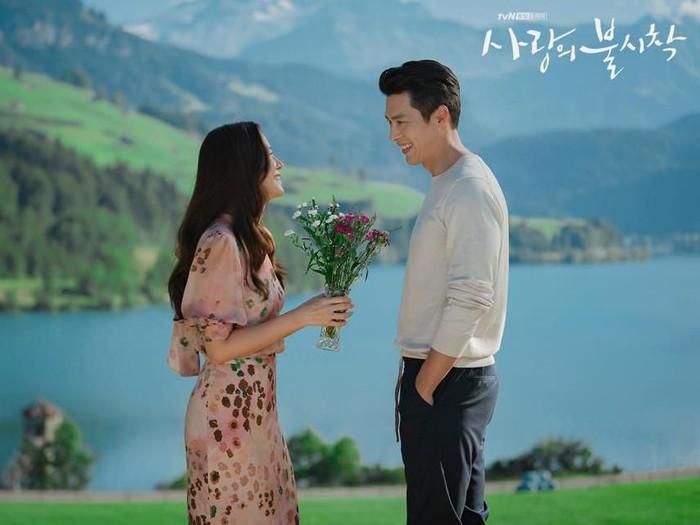 Crash Landing On You, salah satu drakor terbaru dengan rating tinggi di 2020. Foto: tvN