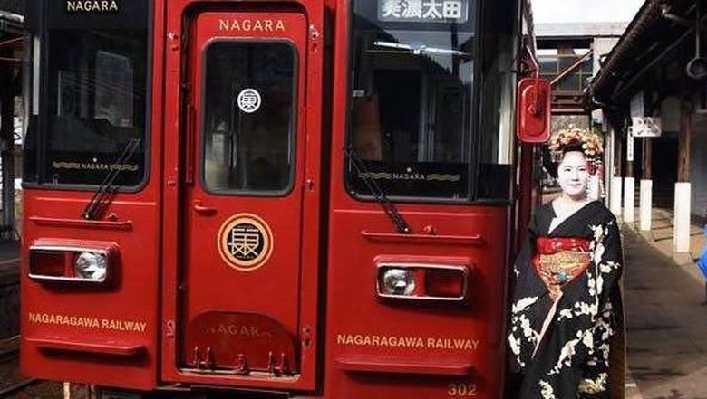 Maiko Train di Gifu
