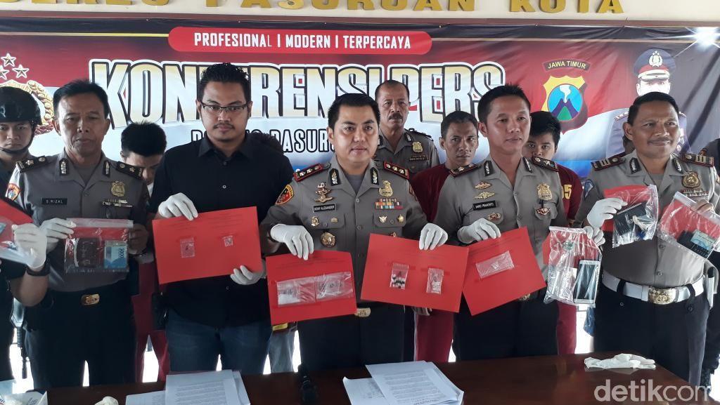 Amankan Bandar Sabu, Polisi Diteriaki Maling dan Dilempar Batu