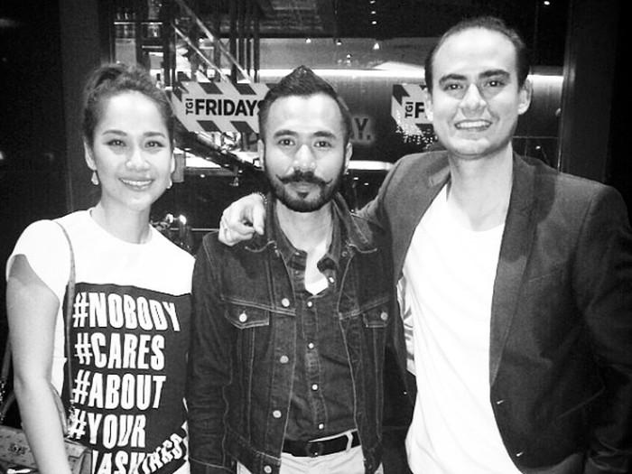 Wak Doyok bersama BCL dan Ashraf Sinclair.