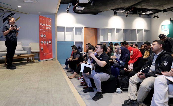 Acara yang dihadiri lebih dari 100 partisipan ini memberikan pandangan mengenai digital landscape tahun 2020. Foto: dok. Telkom
