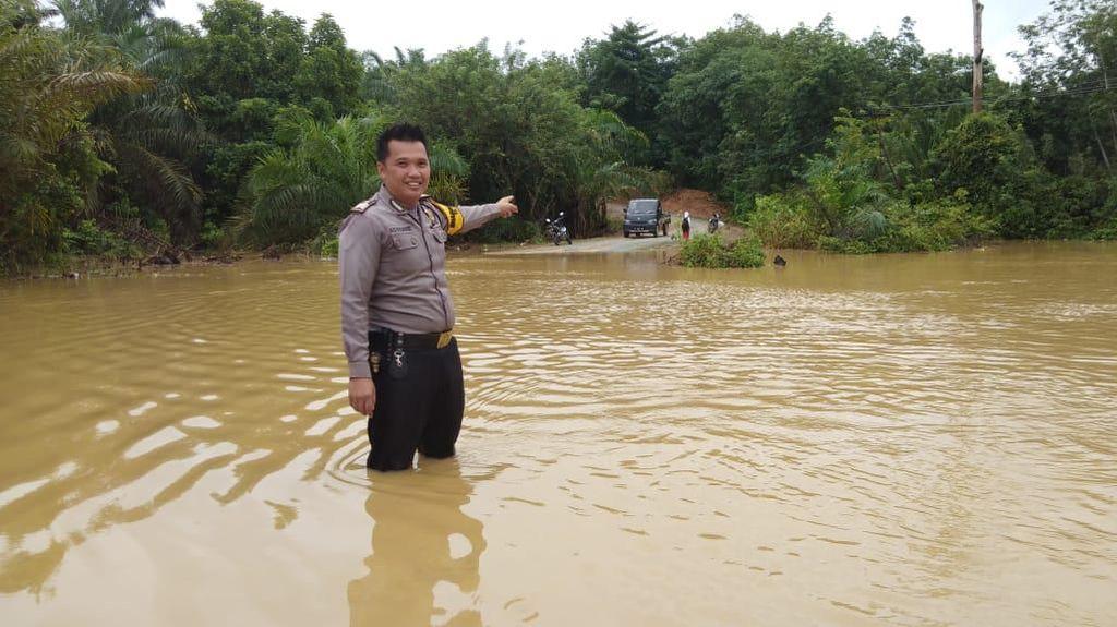 Desa di Penajam Paser Utara Kaltim Terendam Banjir