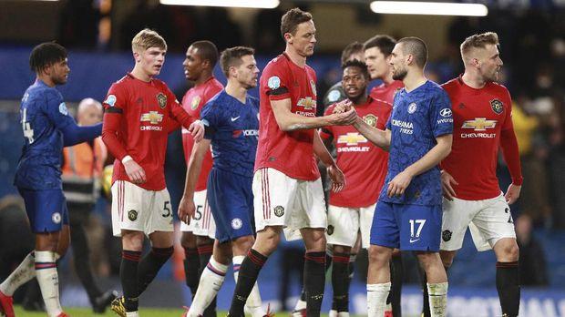Klub-klub Premier League terancam kehilangan 762 juta poundsterling dari hak siar.