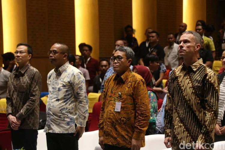 Grow with Google digelar di Perpustakaan Nasional, Jakarta Pusat, Selasa (18/2). Dalam acara Kemendikbud ingin anak Indonesia bisa computational thinking.