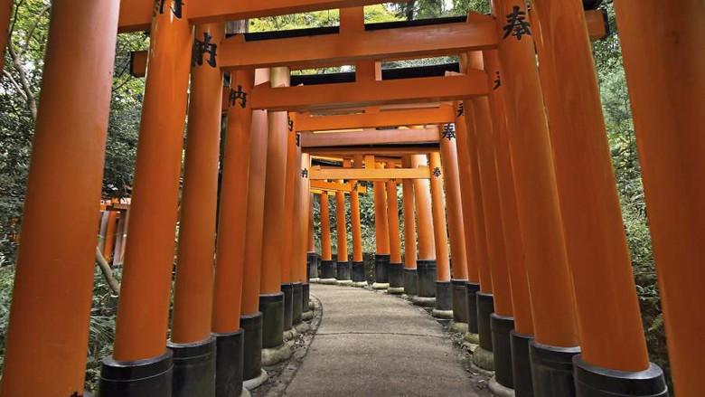 Kyoto sepi turis