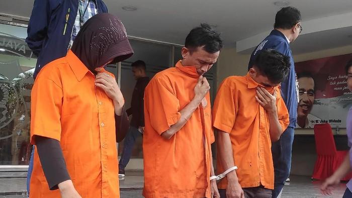Polisi tangkap komplotan pencuri modus geser tas yang beraksi hingga mancanegara