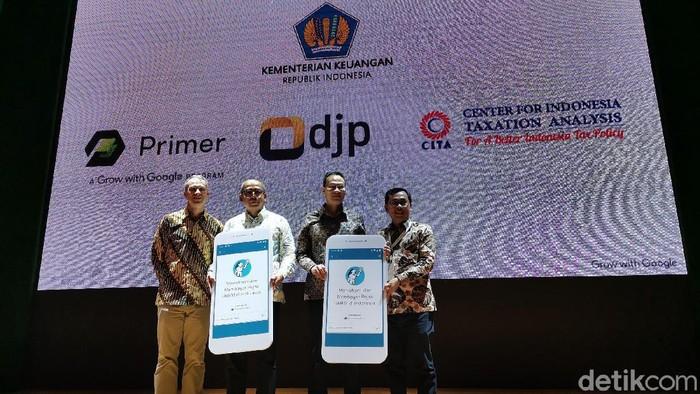 Pajak dan keuangan kini bisa dipelajari netizen lewat aplikasi. Google, Ditjen Pajak dan Center for Indonesia Taxation Analysis (CITA) membuat Acara Grow With Google luncurkan aplikasi Primer, kolaborasi dengan Ditjen Pajak dan Center for Indonesia Taxation Analysis (CITA)