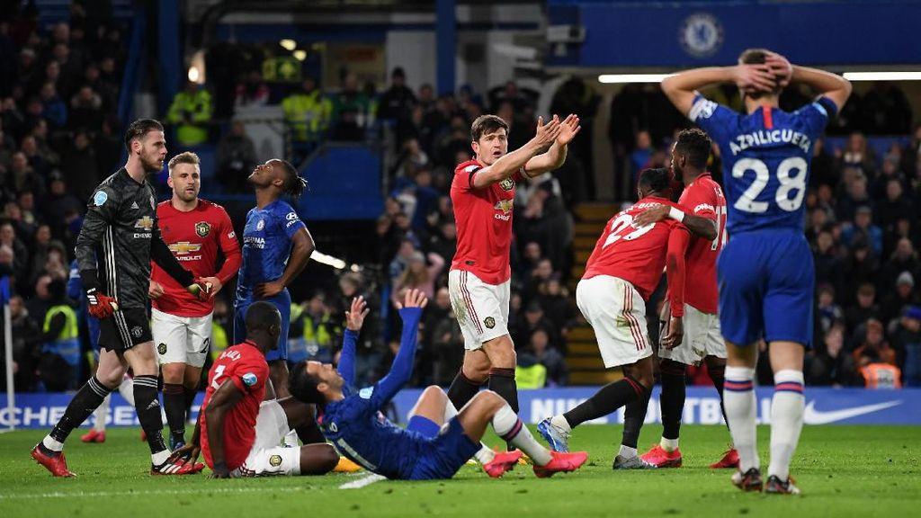 Jadwal Liga Inggris Pekan Ini, Waktunya MU vs Chelsea