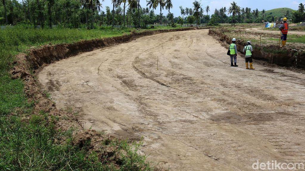 Pembangunan Jalan Kawasan Sirkuit Mandalika Telan Rp 900 M