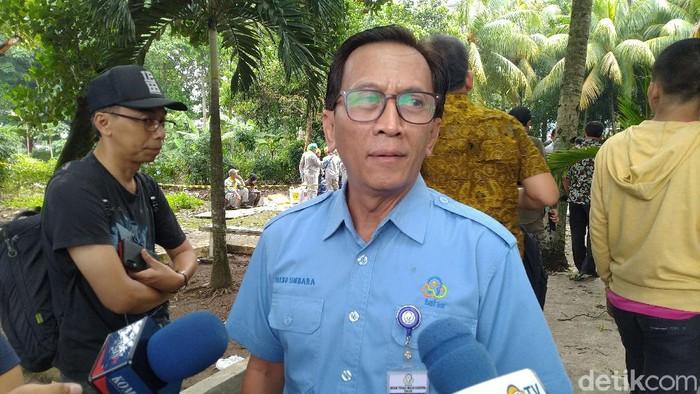 Kepala Biro Humas dan Kerjasama Badan Tenaga Nuklir Nasional (Batan), Heru Umbara