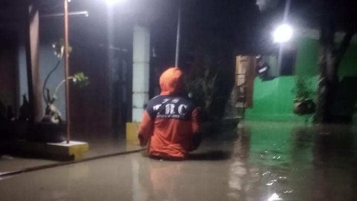 Ratusan rumah terendam banjir hingga 1 meter di Blora, Selasa (18/2/2020).