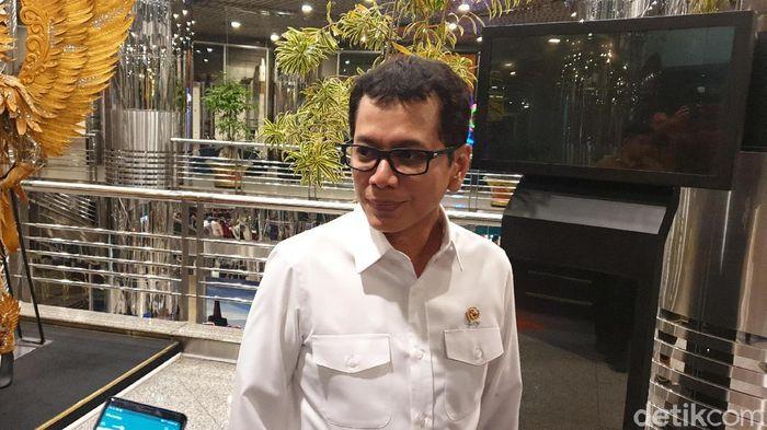 Menteri Pariwisata dan Pembangunan Ekonomi Kreatif Wishnutama Kusubandio
