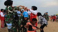 Pasukan Garuda Kenalkan Budaya Indonesia di Kongo
