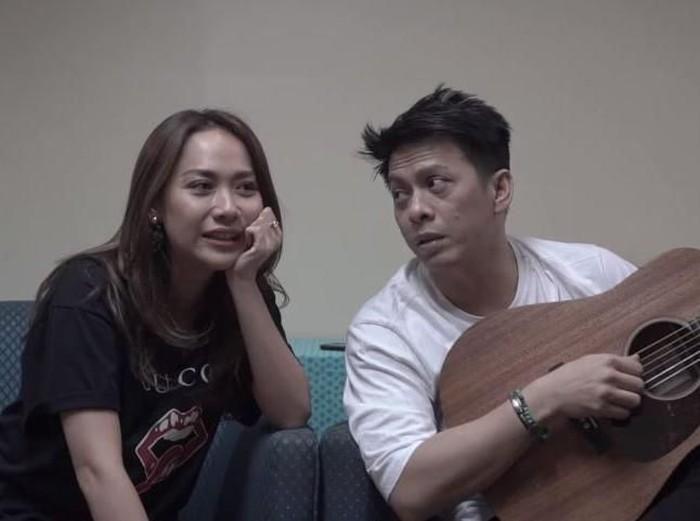Bunga Citra Lestari (BCL) dan Ariel NOAH saat berkolaborasi. (YouTube)