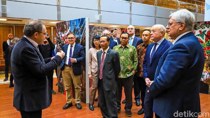 KBRI Rusia di Moskow gelar seminar untuk peringati 70 tahun hubungan Indonesia-Rusia. (Foto: Dok. KBRI Moskow)