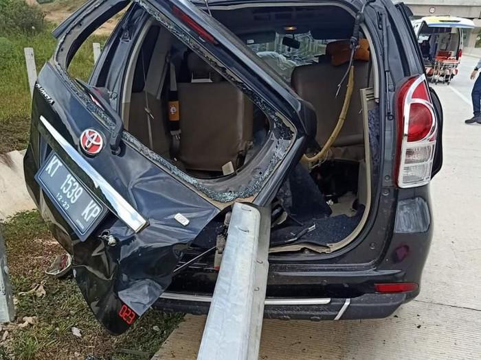 DOK. ISTIMEWA/ Kecelakaan di Tol Balikpapan-Samarinda (Balsam) Rabu, 19 Februari 2020