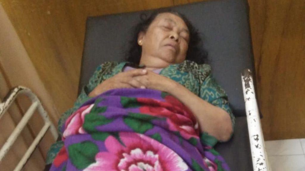 Disatroni Perampok Berpistol, Nenek Leginem Jatuh Pingsan