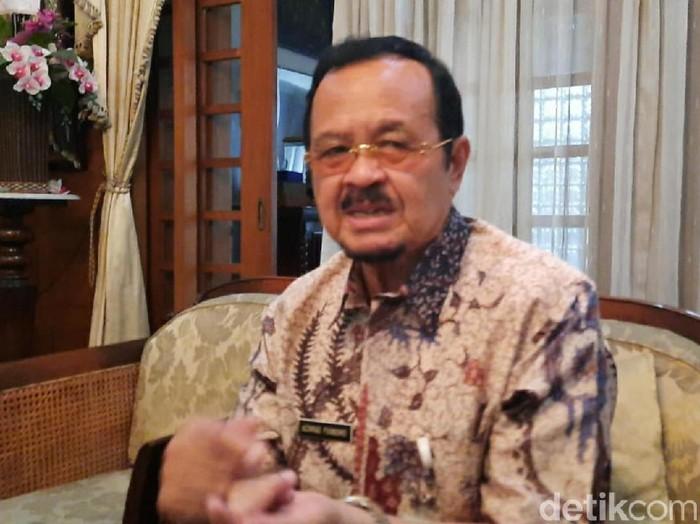 Achmad Purnomo saat ditemui di kediamannya, Jalan Bhayangkara, Laweyan, Solo, Rabu (19/2/2020).