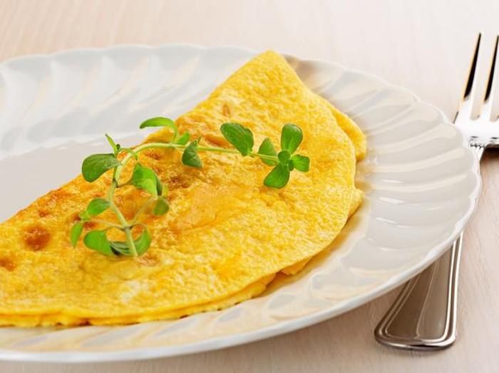 cara membuat omelet yang gurih dan lembut