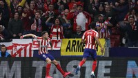 Babak I Atletico Madrid Vs Liverpool: The Reds Tertinggal 0-1
