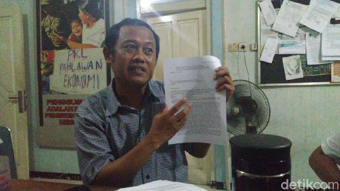Dosen Unnes, Sucipto Hadi Purnomo yang diskors hina Jokowi menyurati Mendikbud Nadiem Makarim, Rabu (19/2/2020).