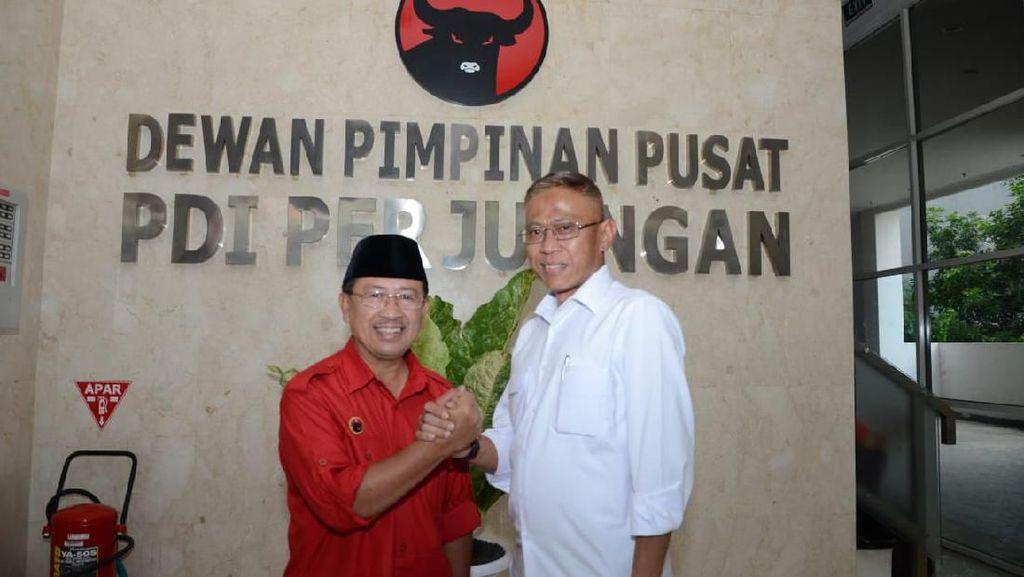 PDIP Resmi Usung Herman Suherman-Tb Mulyana di Pilbup Cianjur 2020