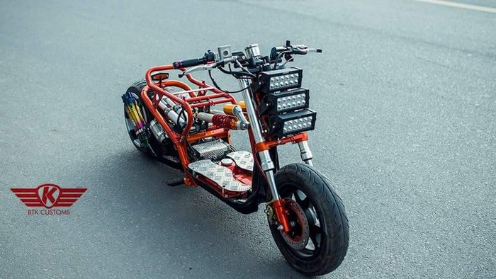 Modifikasi Motor Honda Zoomer